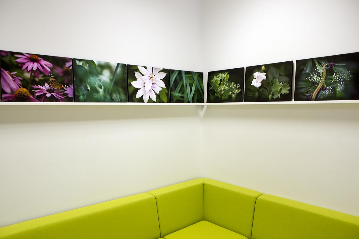 Personalrummet på Bollmora vårdcentral - Fotograf Erja Lempinen